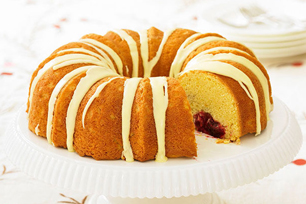 Cranberry-Filled Pound Cake