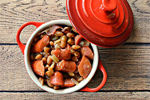 Bacon, Hot Dogs & Beans Chili Image 1
