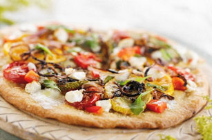 Roasted Vegetable Pizza Image 1