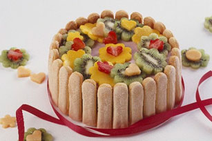 Strawberry-Kiwi Ladyfinger Dessert Image 1