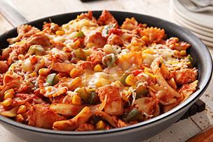 Mexican Chicken-Pasta Skillet