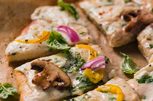 Easy Veggie Pizza Image 1
