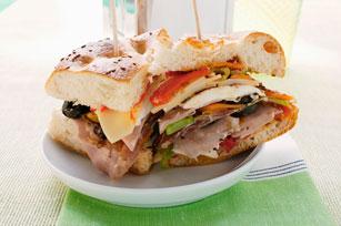Sandwich au poulet et au jambon à l'italienne Image 1