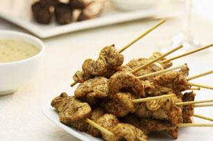 Satay de poulet et sauce aux arachides Image 1