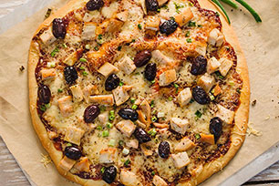 Smokey Barbecue Chicken Pizza