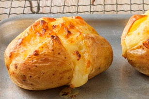 Cheesy Baked Potatoes Image 1