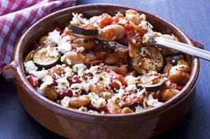 Casserole méditerranéenne de légumes et de haricots Image 1