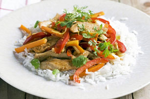 Asian Chicken Stir-Fry with Peppers Image 1