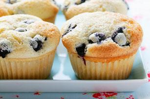 Muffins éclair au citron et aux bleuets Image 1