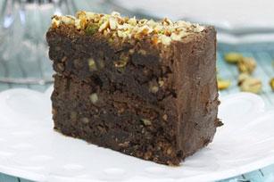 Gâteau au fudge chocolaté et aux noix Image 1