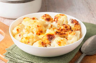 Oven-Roasted Cheesy Cauliflower Image 1