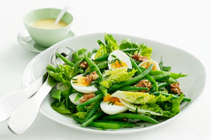 Green Bean, Walnut and Egg Salad Image 1