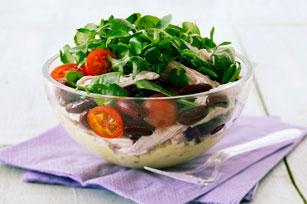 Salade au poulet, à la tomate et au parmesan Image 1