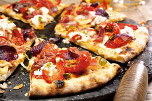 Pizza blanche aux trois fromages Image 1