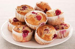 Muffins aux framboises Image 1