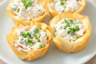 Tartelettes crémeuses au crabe Image 1