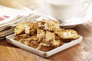 Biscottis au chocolat blanc, aux noisettes et à l'orange Image 1