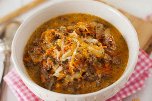 Cheeseburger Soup Image 1