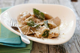 Quick and Easy Ravioli with Parmesan Garlic Butter Image 1