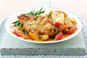 Côtelettes de porc et sauce au cidre Image 1