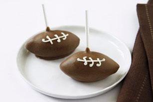 Sucettes de gâteau «ballon de football» Image 1