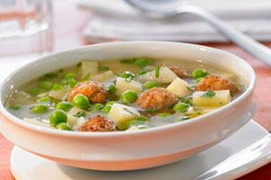 Easy Meatball Soup Image 1