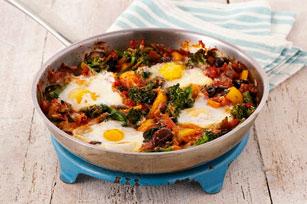 Poêlée d'œufs et de légumes Image 1