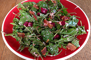 Arugula, Beet and Goat Cheese Salad Image 1