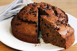 Chocolate, Chocolate Chip Cake