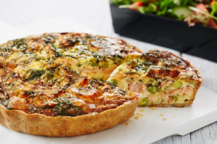 Easy Salmon Quiche Image 1