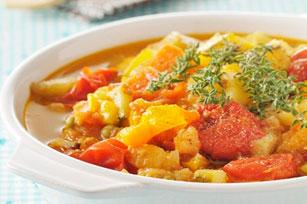 Ratatouille de légumes frais du jardin Image 1