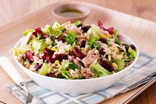 Salade de thon, de haricots rouges et de riz Image 1