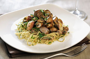 Quick and Easy Spaghetti with Mushrooms Image 1