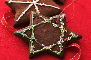 Biscuits étoiles au chocolat Image 1
