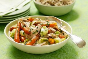 Ragoût de poulet et de légumes Image 1
