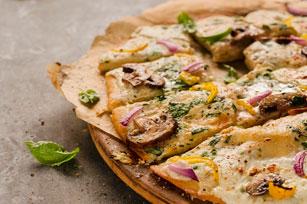 Pizza aux trois légumes Image 1