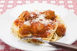 Spaghettis aux boulettes de viande super faciles Image 1