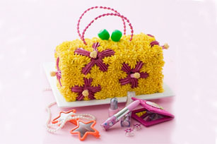 Gâteau d'anniversaire sac fleuri Image 1