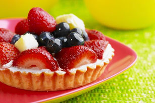 Mini Vanilla Custard Fruit Tarts