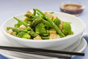 Sauté de tofu et de légumes Image 1