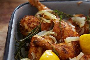 Poulet rôti aux oignons et au citron Image 1