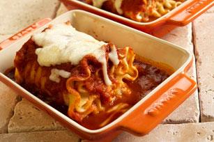 Rouleaux de lasagne aux épinards Image 1