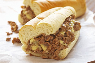 Our Best Cheesy Beef Sandwich