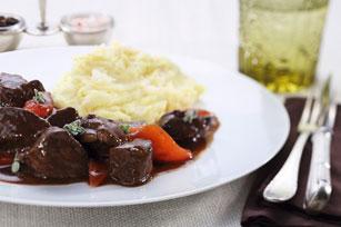 Ragoût de bœuf et purée de pommes de terre Image 1