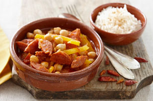 Chorizo and Chickpea Stew Image 1