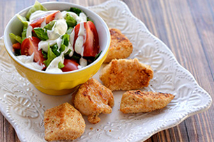Baked Parmesan Ranch Chicken Nuggets