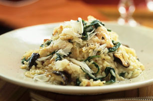 Spinach & Mushoom Risotto
