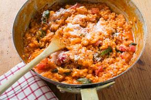 Tomato-Basil Risotto Image 1