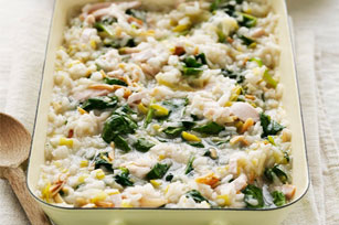 Oven-Baked Chicken and Spinach Risotto Image 1