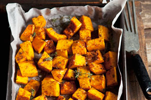 Balsamic Roast Squash with Thyme Image 1
